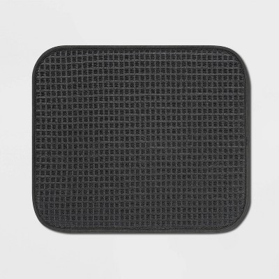"16""x18"" Drying Mat Dark Gray - Made By Design™"