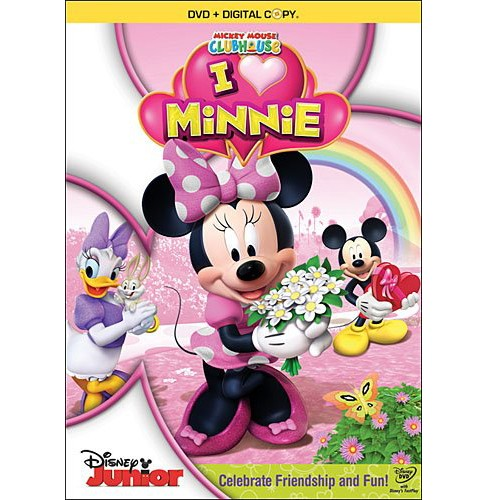 Mickey Mouse Clubhouse: I Heart Minnie [2 Discs] [Includes Digital Copy] [With Necklaces] - image 1 of 1