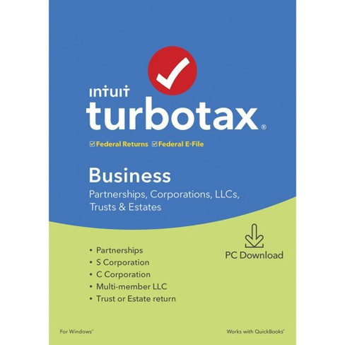 Turbotax Home And Business 2020 Download.Turbotax Business 2019 Pc Esd