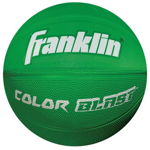 Franklin Sports Colorblast Basketball - Green - image 1 of 1