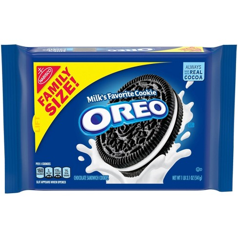 Oreo Chocolate Sandwich Cookies Family Size - 19.1oz - image 1 of 4