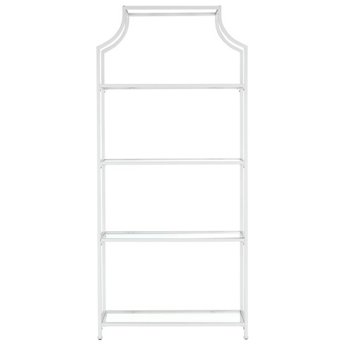 Decorative Bookshelf White - image 1 of 4