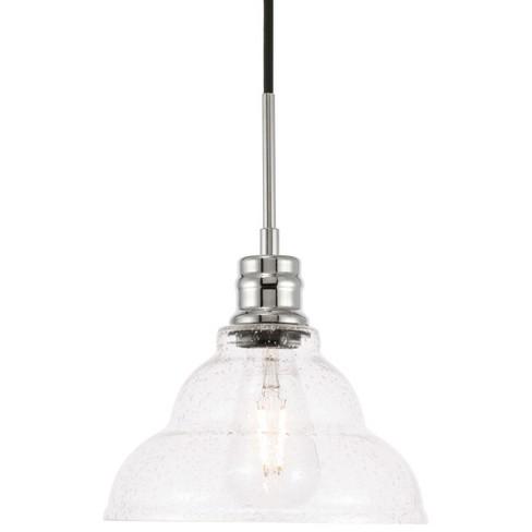 "Elegant Lighting LD6217 Gil Single Light 9"" Wide Mini Pendant - image 1 of 1"