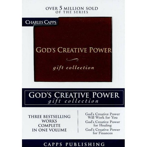 God's Creative Power Gift Collection - by  Charles Capps (Leather_bound) - image 1 of 1