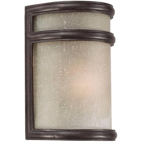 "The Great Outdoors GO 9811 Delshire Single Light 8-1/4"" Height Outdoor Wall Sconce - image 1 of 1"