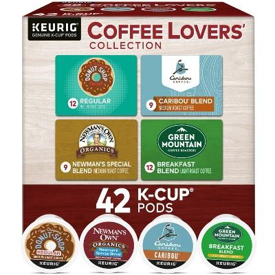 Keurig Coffee Lovers' Collection Keurig K-Cup Coffee Pods Variety Pack Medium Roast - 42ct