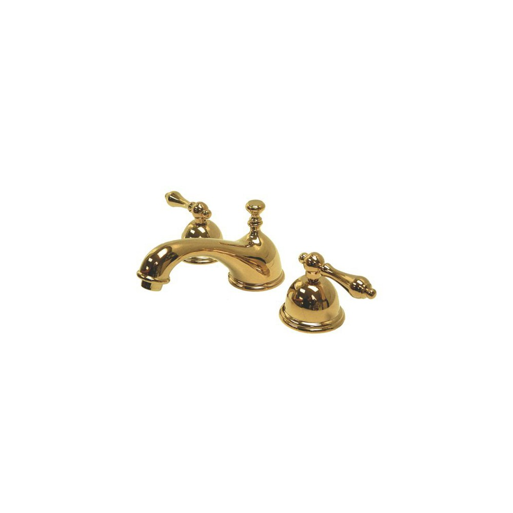 "8"" Lavatory Faucet Polished Brass - Kingston Brass, Multi-Colored"