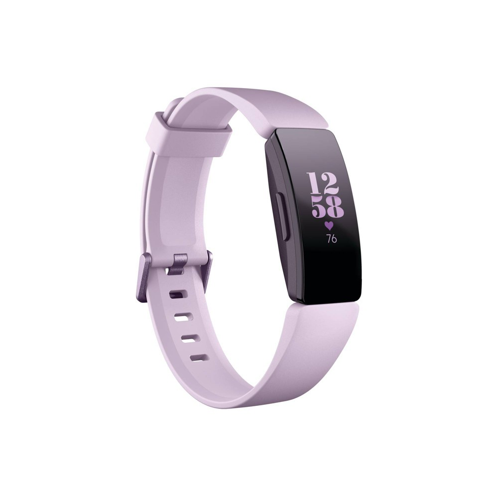 Fitbit Inspire HR Activity Tracker with Small & Large Band - Lilac, Purple