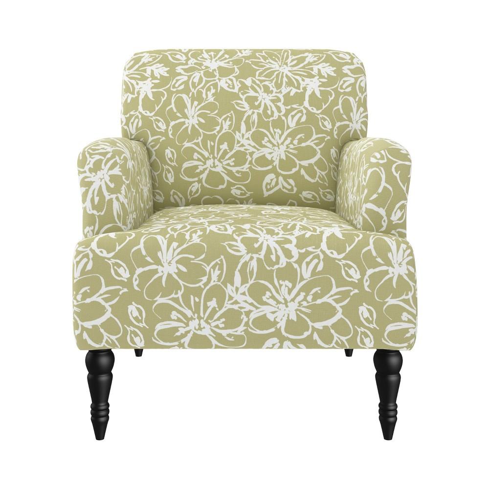 Everlee Armchair Linen Barley Lily Green Handy Living