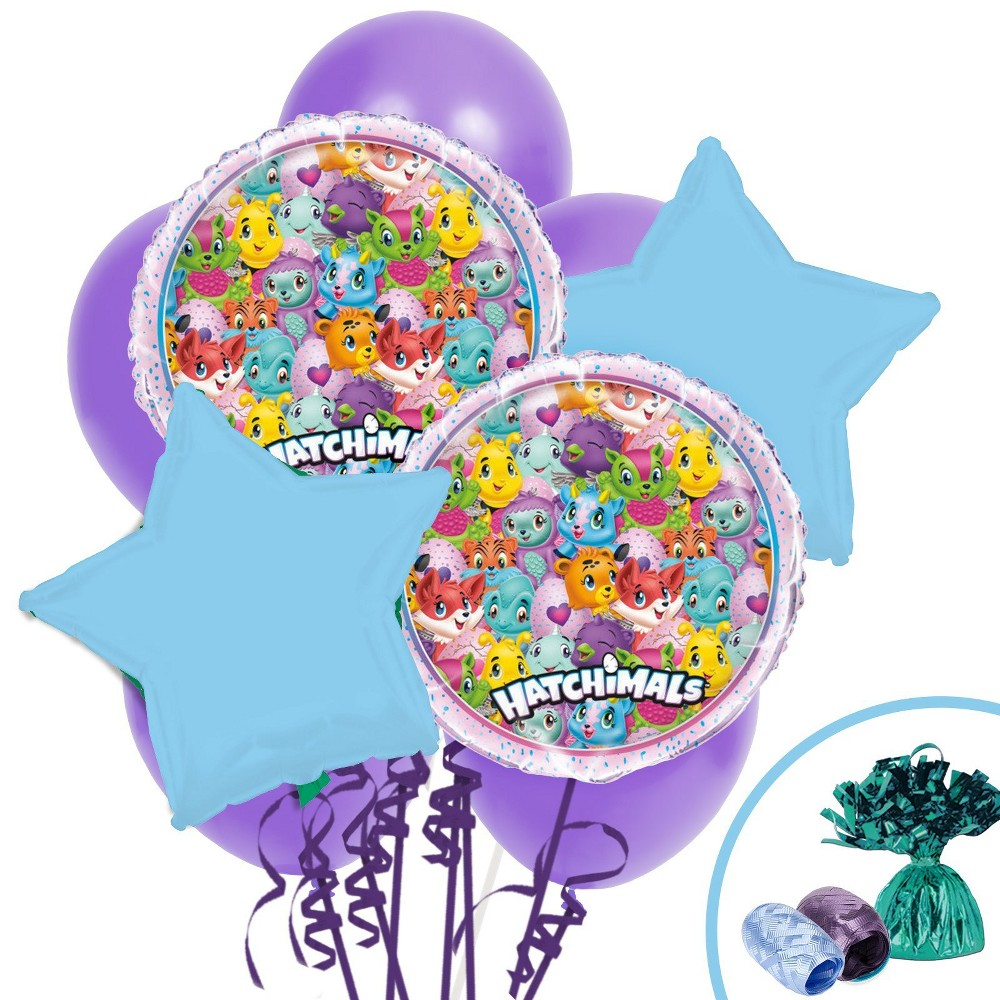 Hatchimals Balloon Bouquet, Multi-Colored