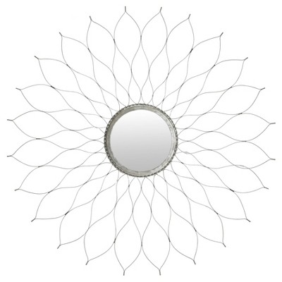 Flower Mirror Silver - Safavieh