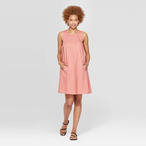 Women's Sleeveless Scoop Neck Tank Dress - Prologue™ - image 1 of 3