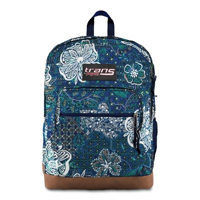 "Trans by JanSport 17"" Super Cool Backpack - Mosaic Garden Blue"