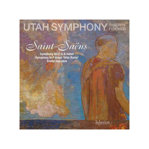 Utah Symphony Orchestra - Saint-Saens: Symphony No. 2 (CD) - image 1 of 1
