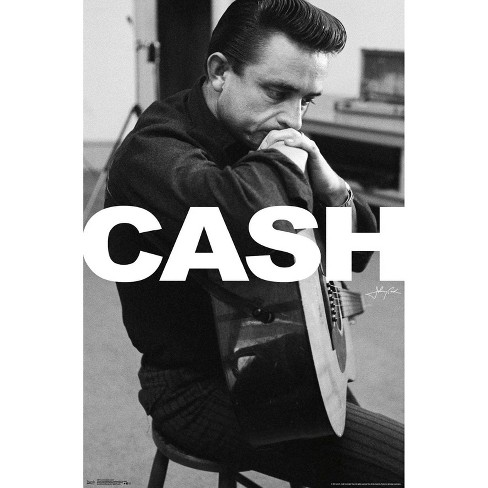 "34""x23"" Johnny Cash Unframed Wall Poster Print - Trends International - image 1 of 2"