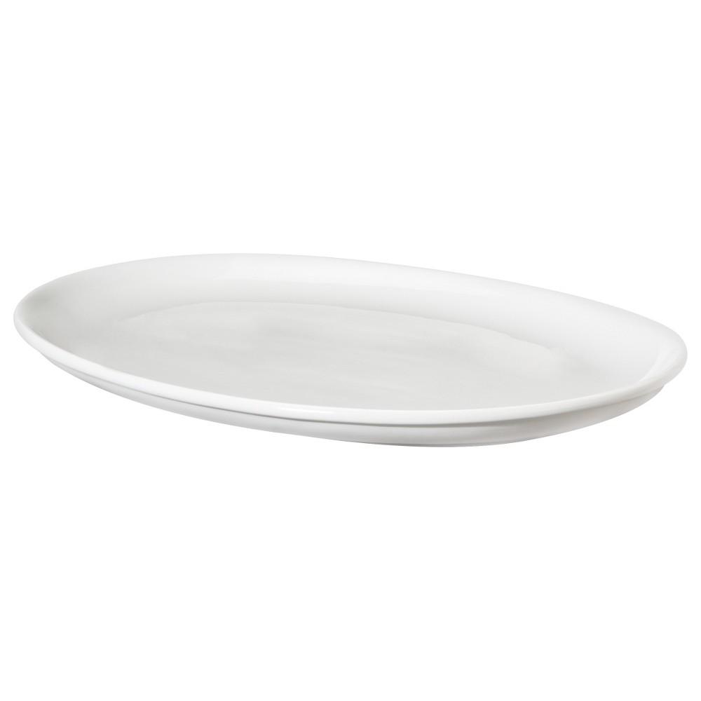 Oval Porcelain Serving Platter 19