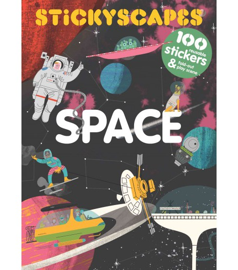 Stickyscapes Space (Paperback) - image 1 of 1