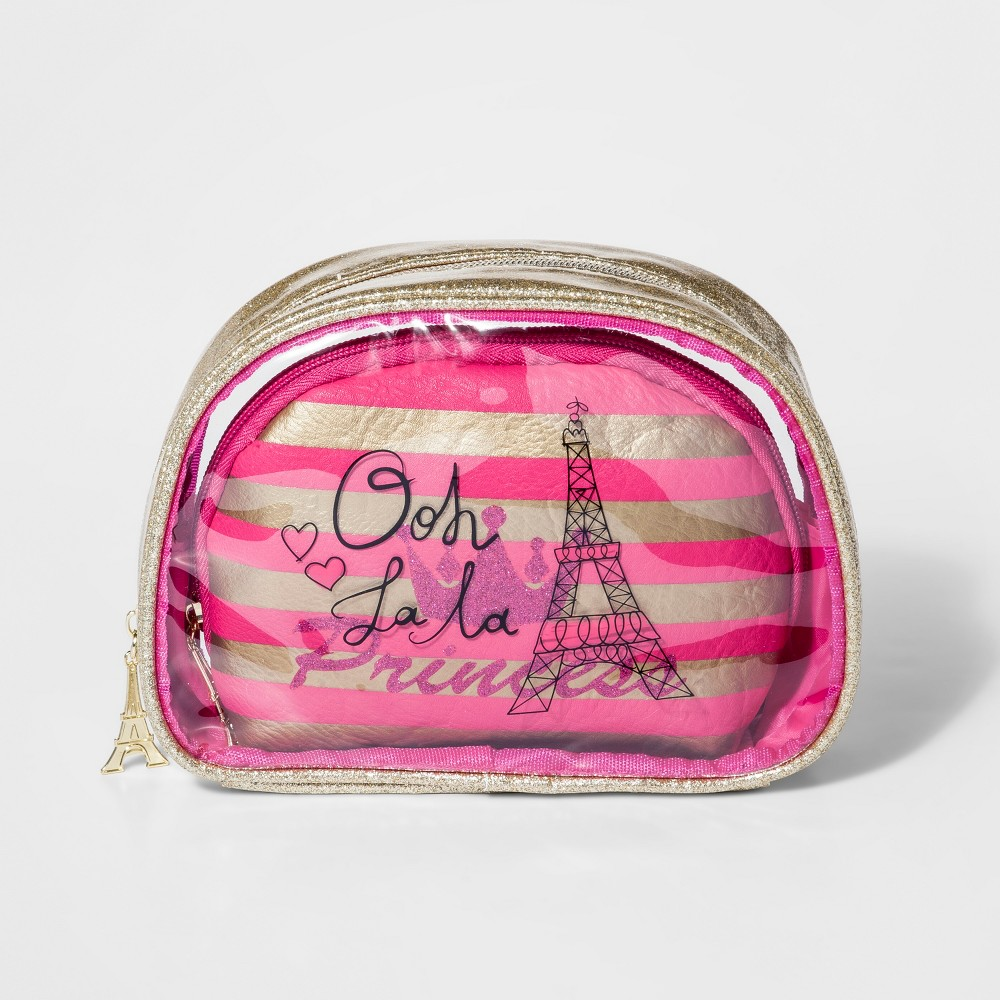 Girls' Oh La La Bag In A Bag Clutch- Cat & Jack Light Gold, Size: Small
