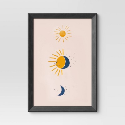 Wedge Poster Frame Black - Room Essentials™