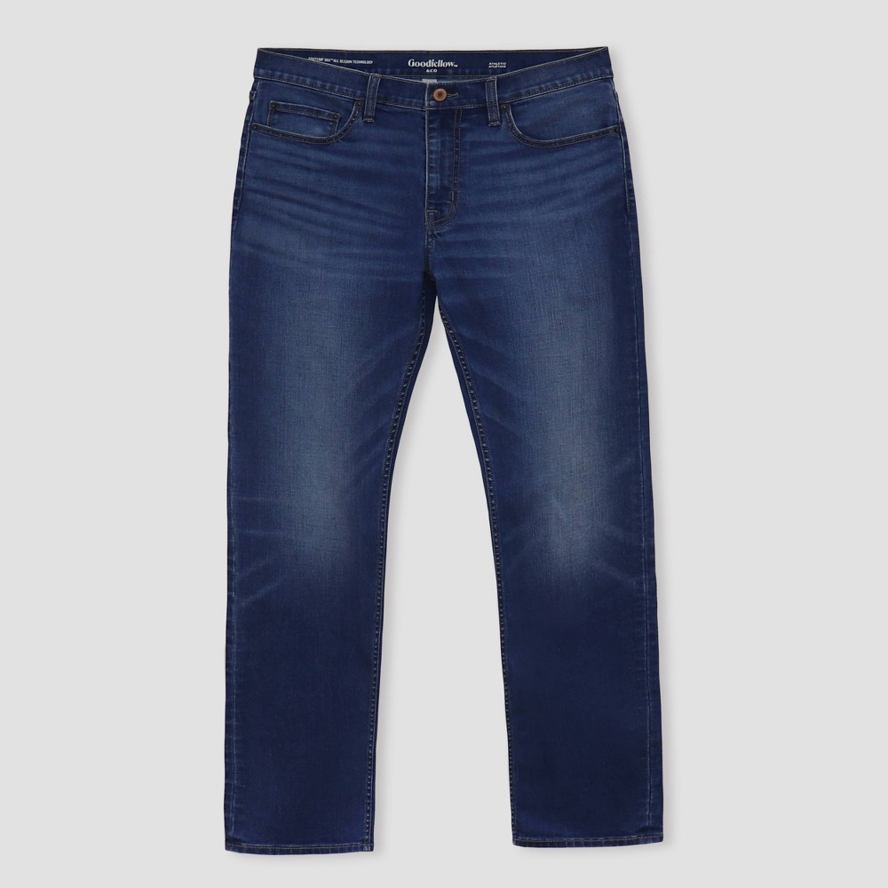 Men 39 S Athletic Fit Jeans Goodfellow 38 Co 8482 Medium Wash 38x30