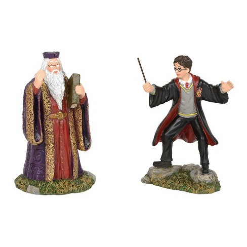 Department 56 - Harry Potter Village - Harry and the Headmaster, 3.15-inches - image 1 of 3