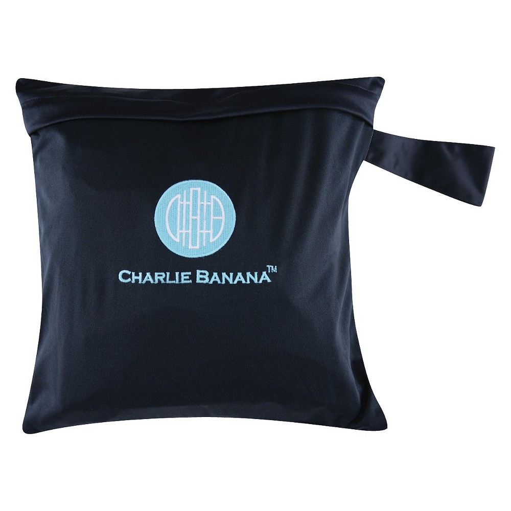 Charlie Banana Diaper Tote - Black/Blue, Infant Unisex, Size: Small