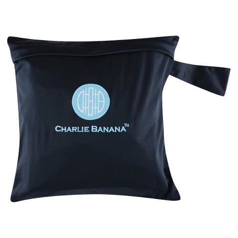 Charlie Banana Diaper Tote - Black/Blue - image 1 of 2