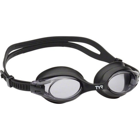 TYR Big Swimple Adult-Sized Goggle Black Frame/Smoke Lens - image 1 of 1