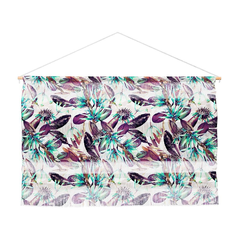 47x32 Marta Barragan Camarasa Exotic Winter Botany Wall Hanging Landscape Tapestries Brown - Deny Designs