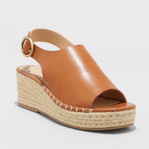f22830d6ee Women's Ava Shield Espadrille Flatform Sandals - Universal Thread™ : Target