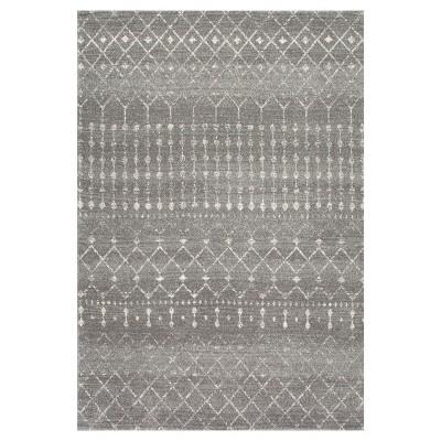Dark Gray Loomed Area Rug - (5'x7'5 )- nuLOOM