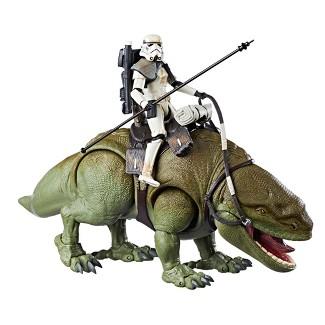 Star Wars The Black Series Dewback and Sandtrooper