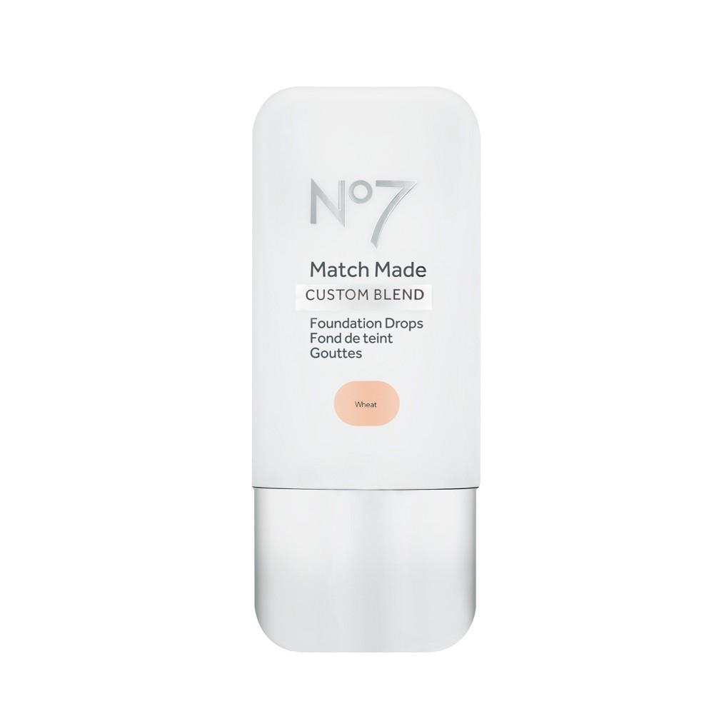No7 Match Made Foundation Drops Wheat - 0.5oz