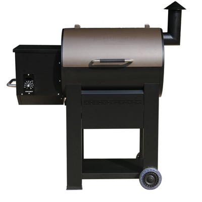 Pellet Grill with Manual Control Black Model 89679 - Monument Grills