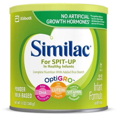 Similac for Spit Up Infant Formula with Iron Powder - 12.5oz