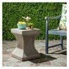 Curby Square Concrete Accent Table - Safavieh® - image 2 of 4