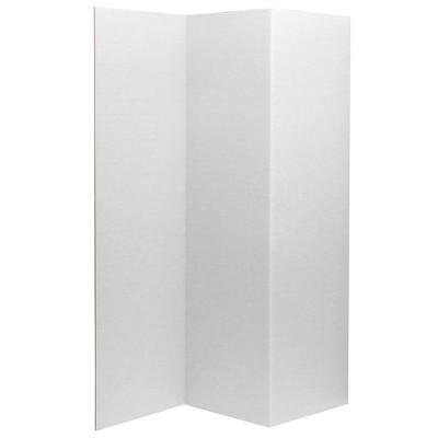 "6"" Cardboard Room Divider 3 Panel - Oriental Furniture"