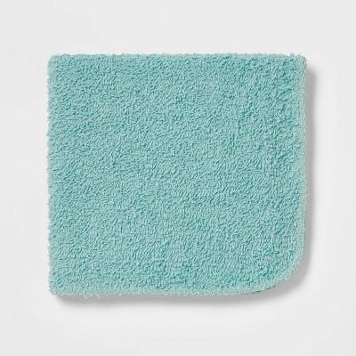 24pk Washcloth Set Blue - Room Essentials™