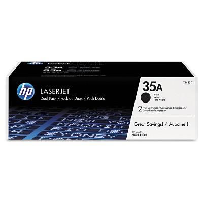 HP Inc. HP 35A (CB435D) 2-pack Black Original LaserJet Toner Cartridges