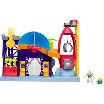 Fisher-Price Imaginext Disney Pixar Toy Story 4 Pizza Planet Playset