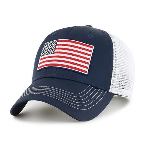 947e4f16162 U.S. Soccer Operation Hat Trick Raycroft Adjustable Cap Hat by Fan Favorite