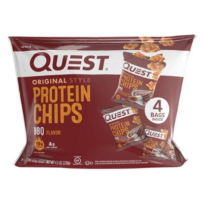 Quest Nutrition BBQ Chips - 4ct/1.1oz