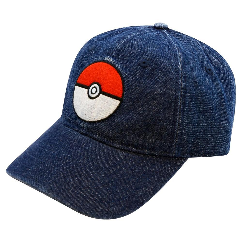 Pokemon Pokeball Brimmed Hat, Black