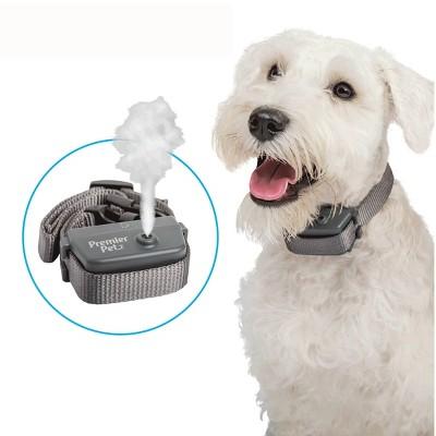 Premier Pet Spray Bark Adjustable Dog Collar - Black