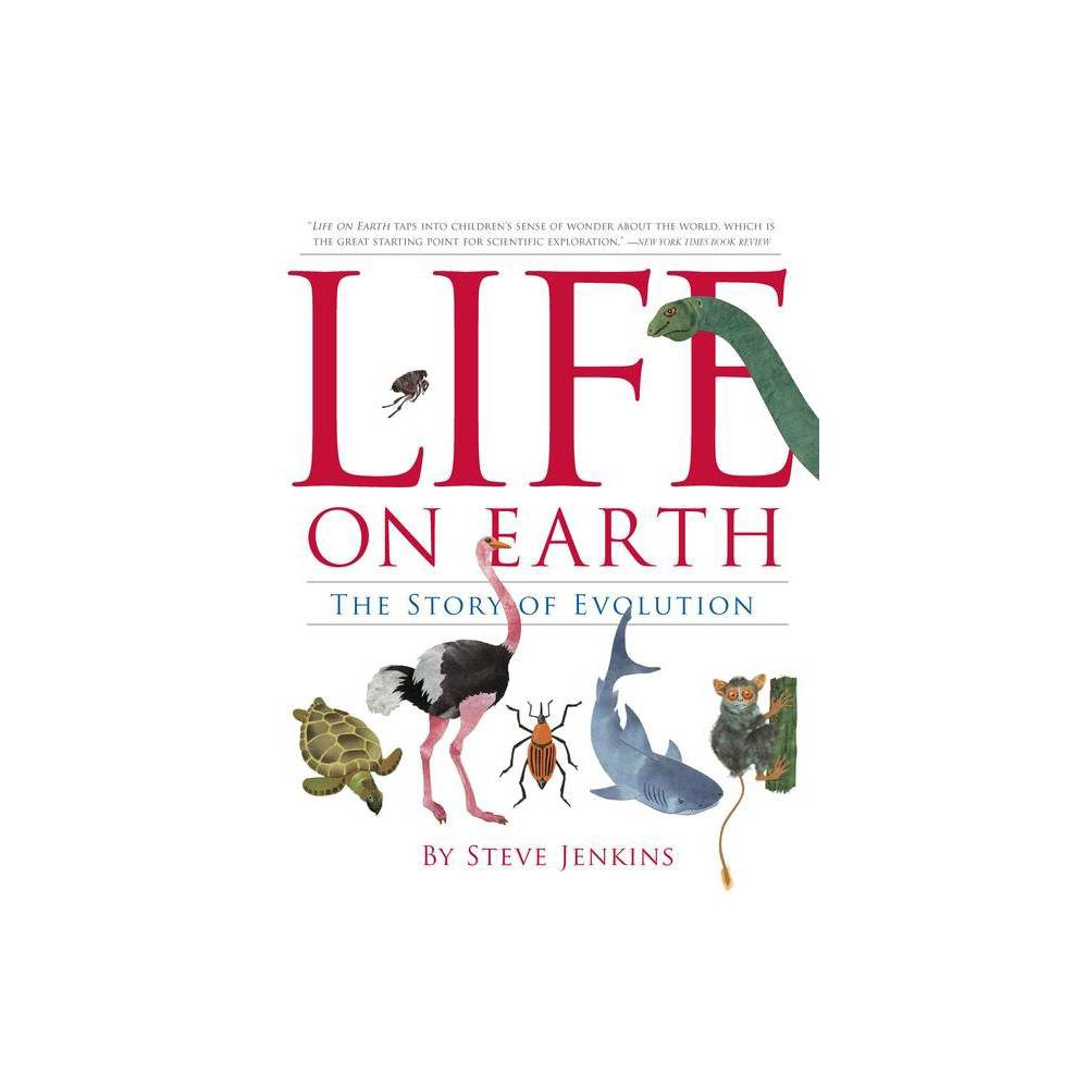 Life On Earth By Steve Jenkins Paperback