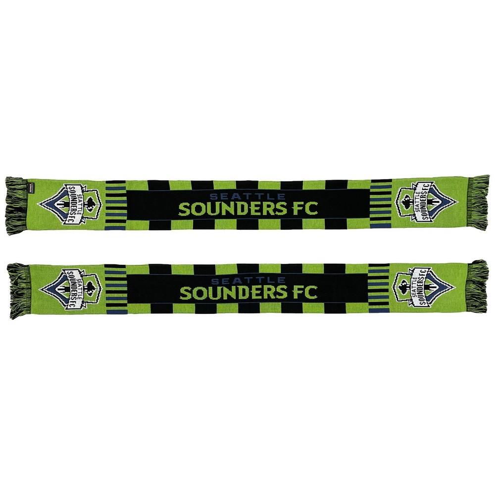 Mls Seattle Sounders Wordmark Bars Scarf