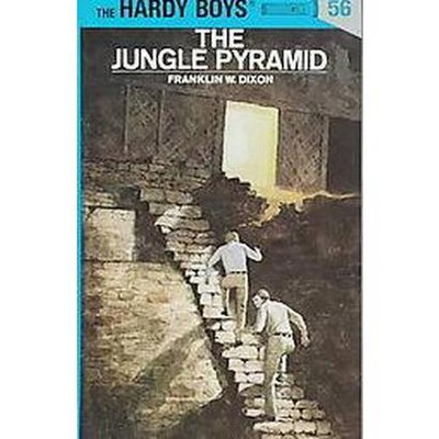 Hardy Boys 56: The Jungle Pyramid - by  Franklin W Dixon (Hardcover)