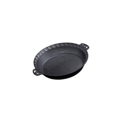 Camp Chef Cast Iron Pie Pan - Black