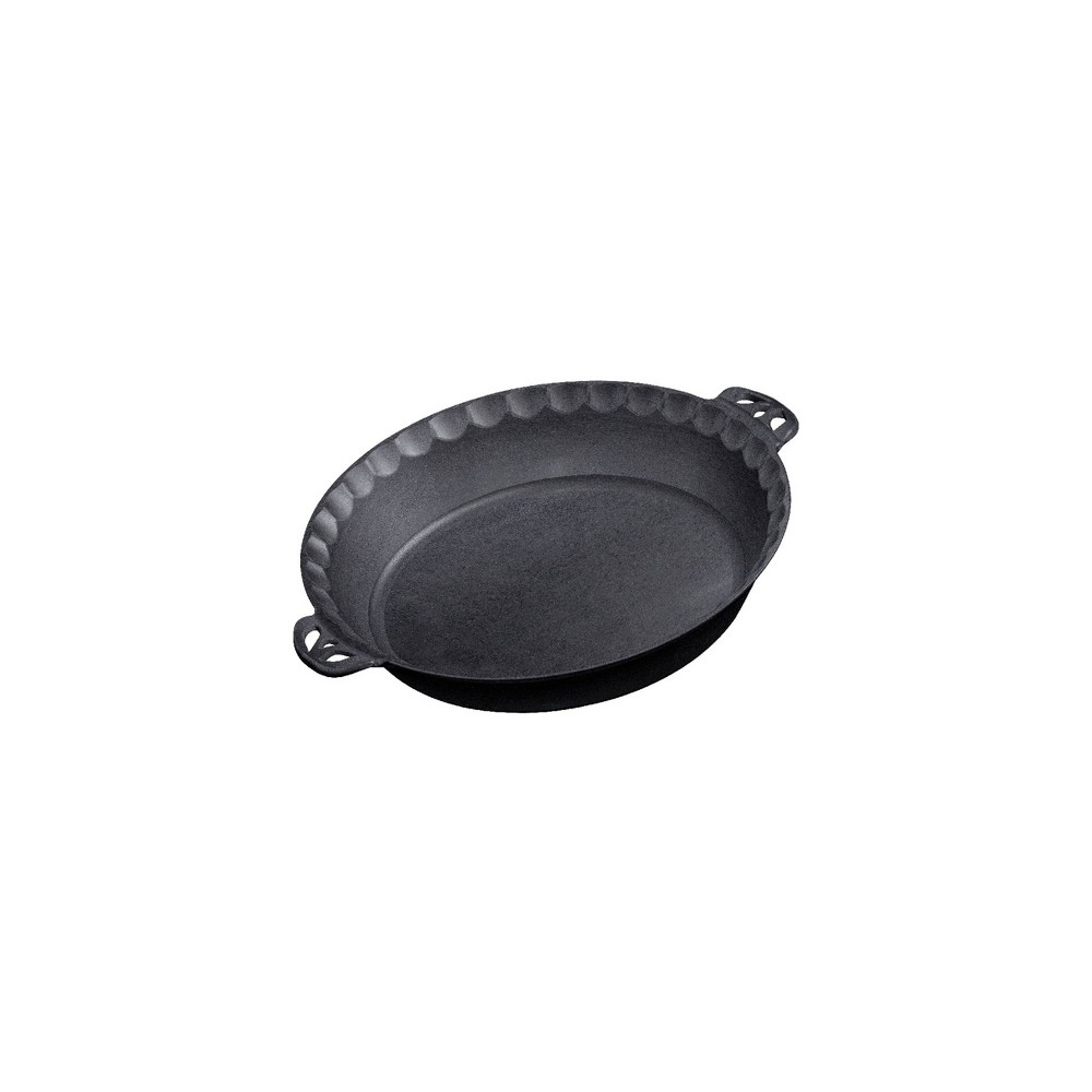 Image of Camp Chef Cast Iron Pie Pan - Black