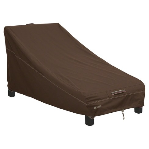 Madrona Patio Day Chaise Cover Wider Chaises Large - Dark Cocoa - Classic Accessories - image 1 of 9